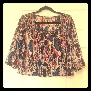 Tops - Colorful Aztec Blouse